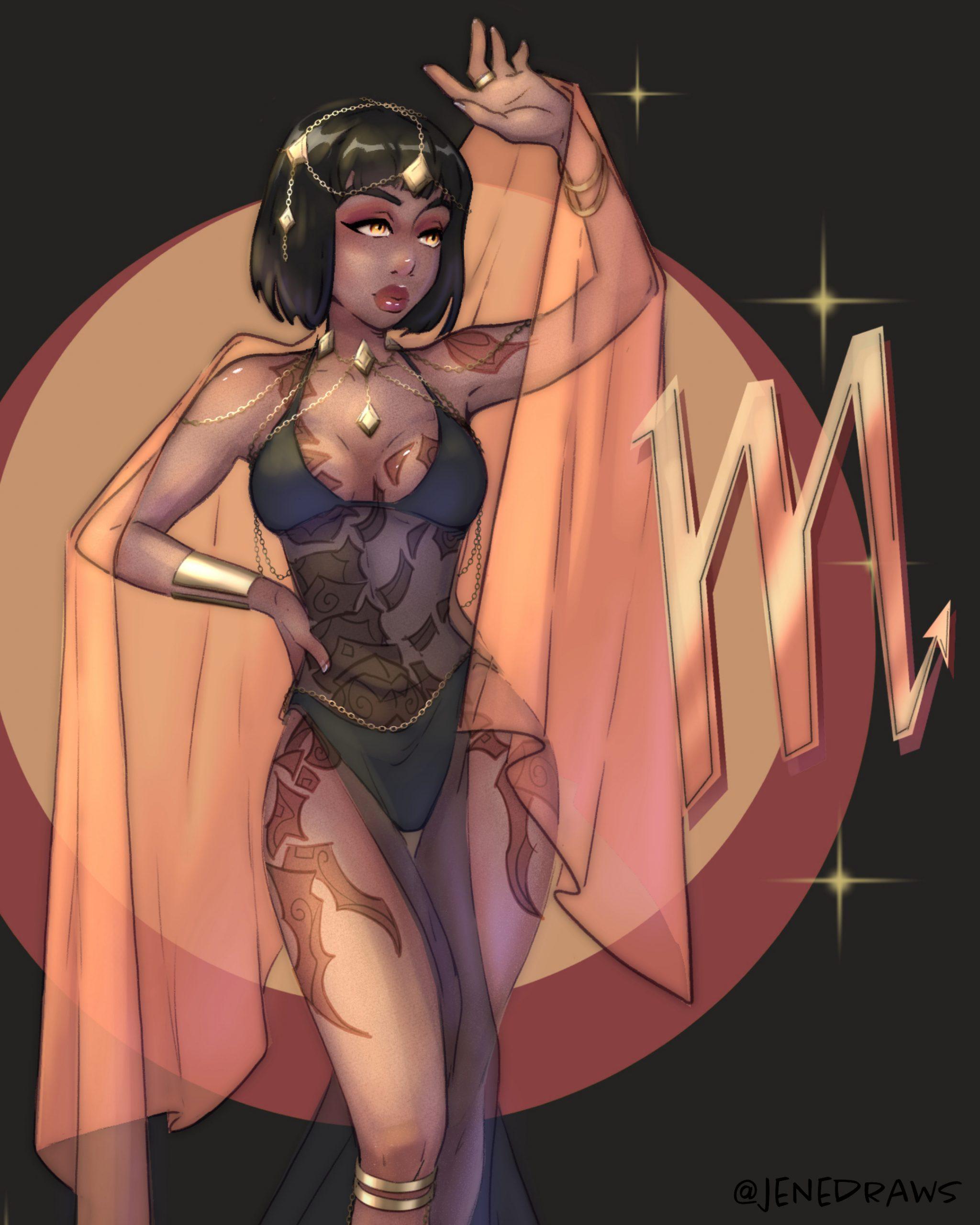 Scorpio Goddess